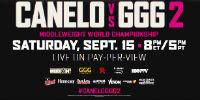 HBO BOXING:  Saturday, September 15th at 9:00 p.m. - $84.99