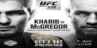 UFC:  October 6th at 9:00 p.m. - $64.99