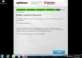 Optimum | Internet protection powered by McAfee®